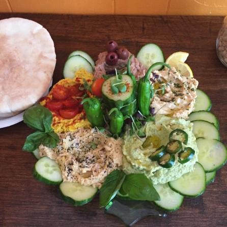 Extra special hummus platter!