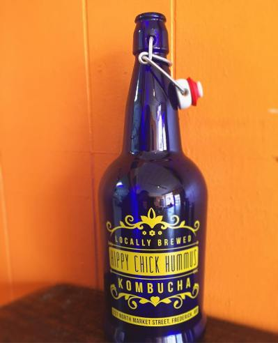 Our Kombucha growlers available for purchase in-store!